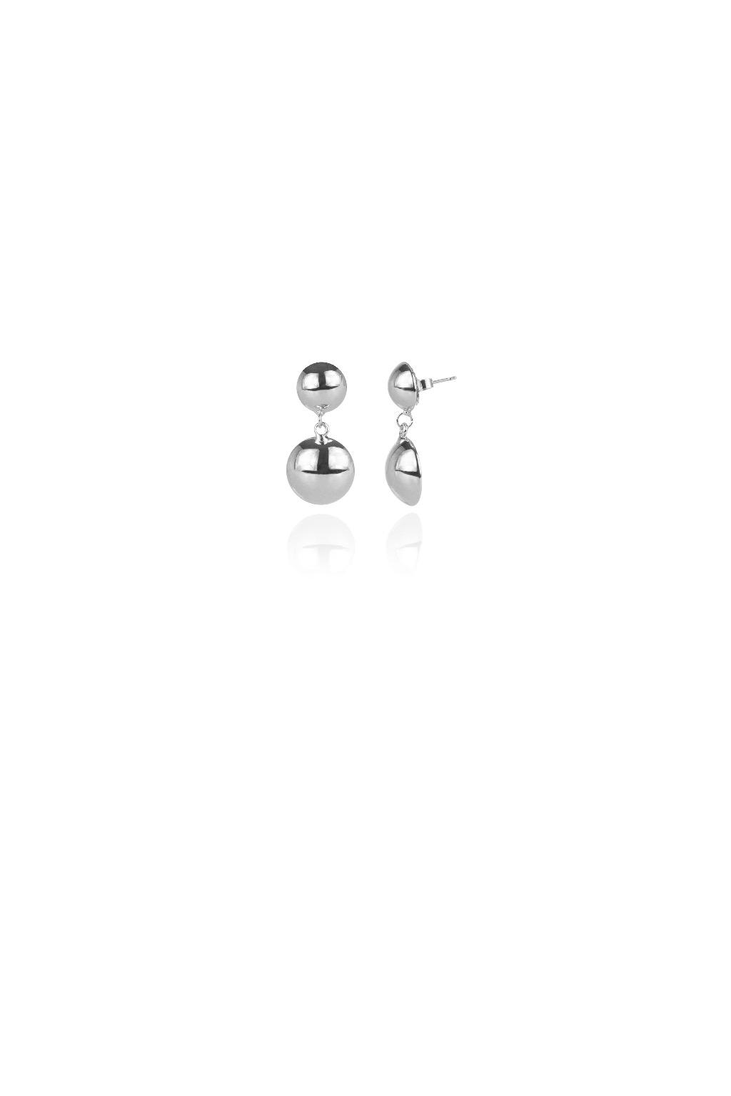 Piccoli orecchini con mini boule Mirrorball