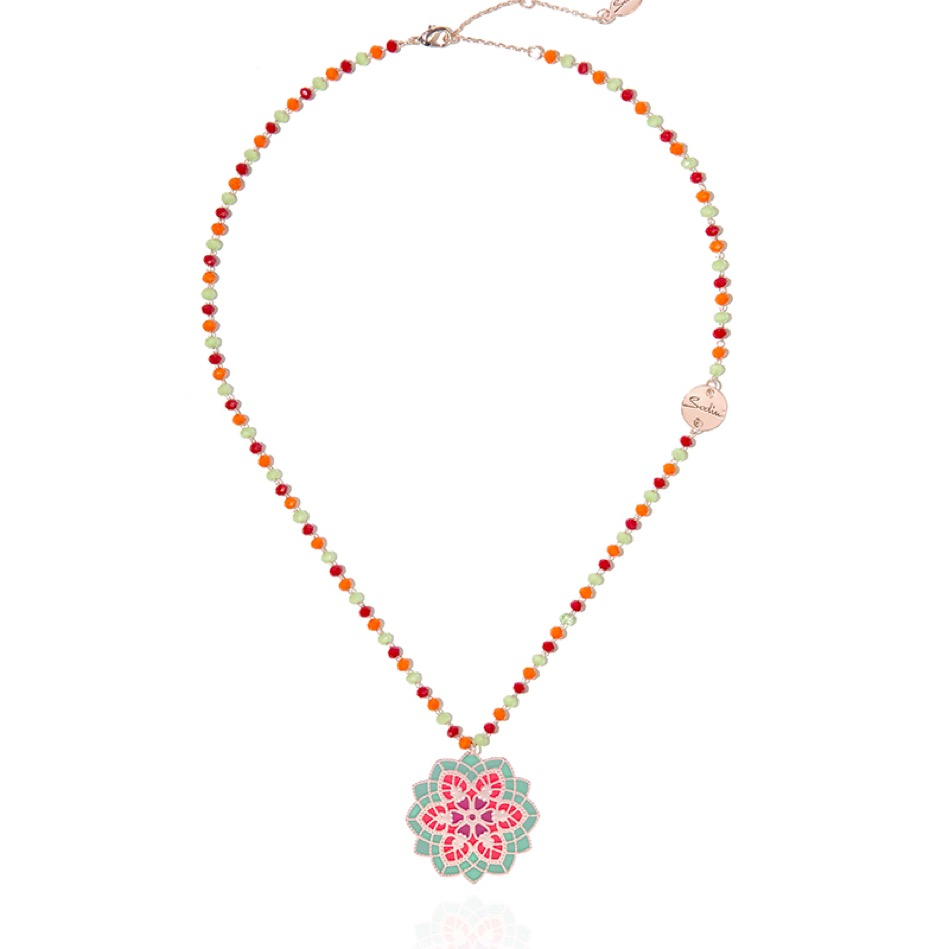 Collier rosone Romanica