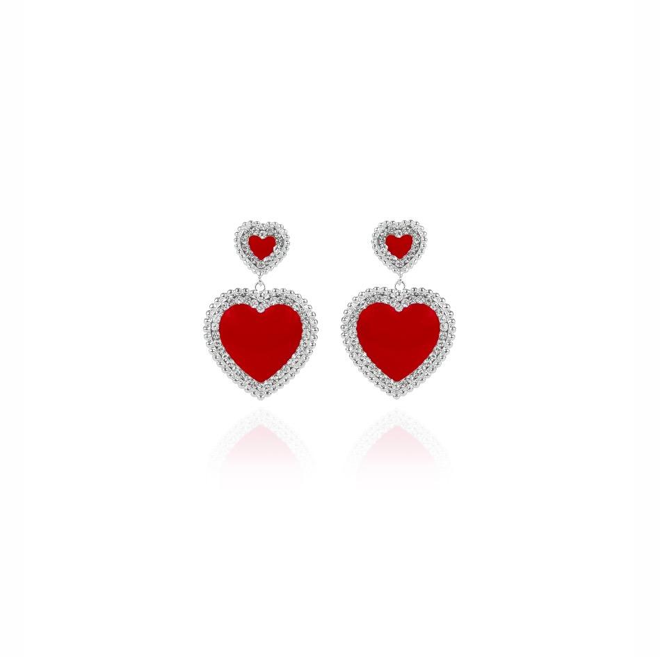 Orecchino doppio cuore Icon