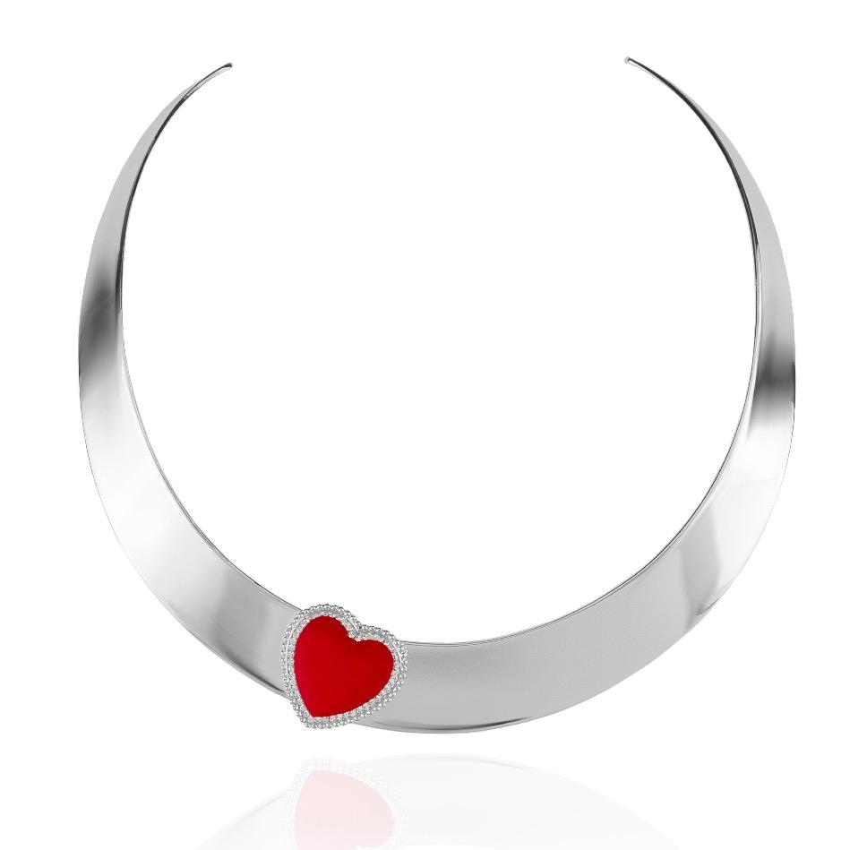 Collier rigido cuore Icon