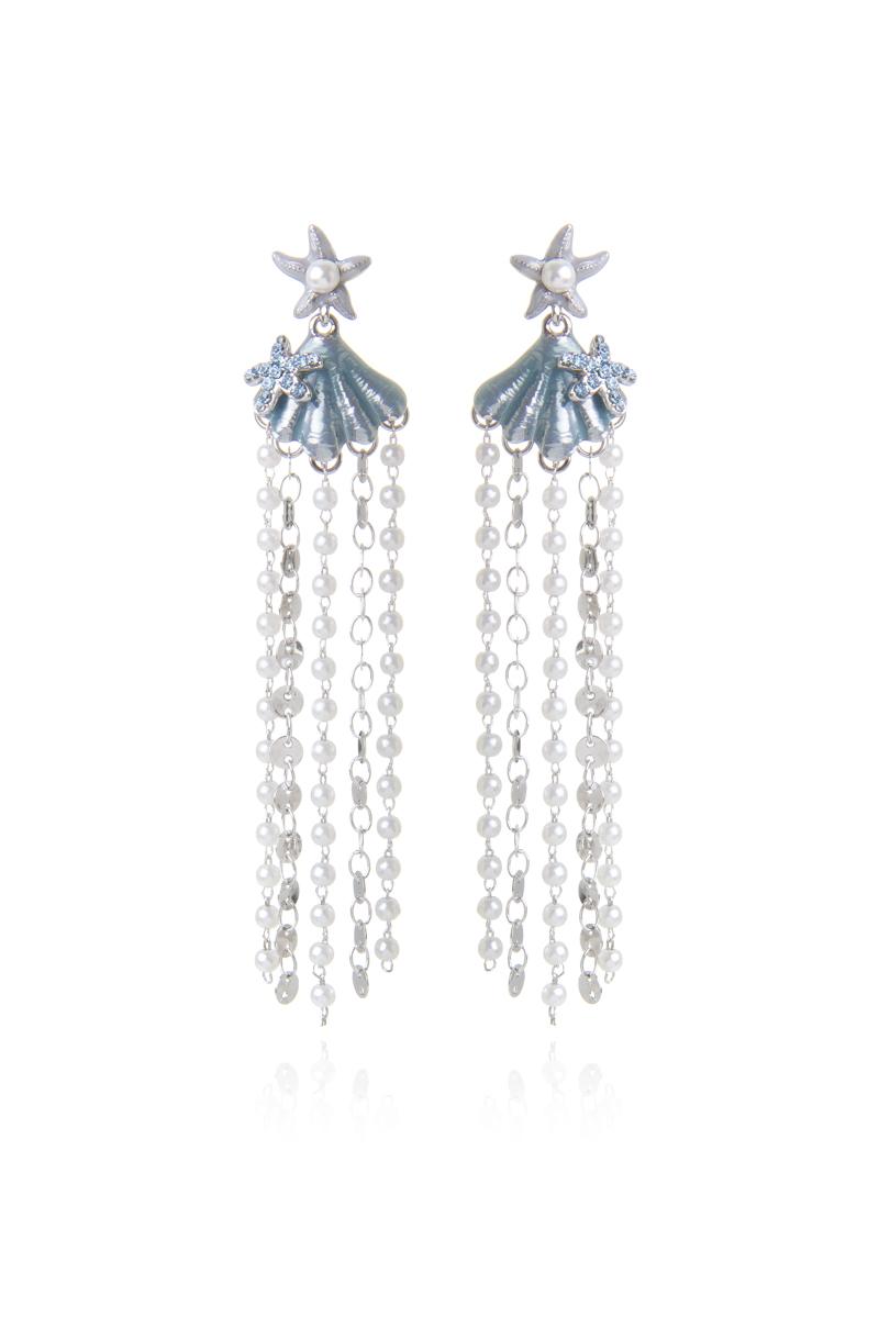Orecchini chandelier Ocean