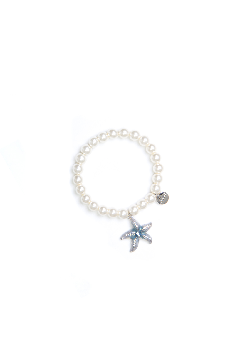 Bracciale elastico con stella marina Ocean